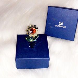 🆕AUTHENTIC SWAROVSKI Sunflower Crystal Fugurine